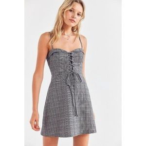 URBAN OUTFITTERS COOPERATIVE PLAID DRESS sz 10